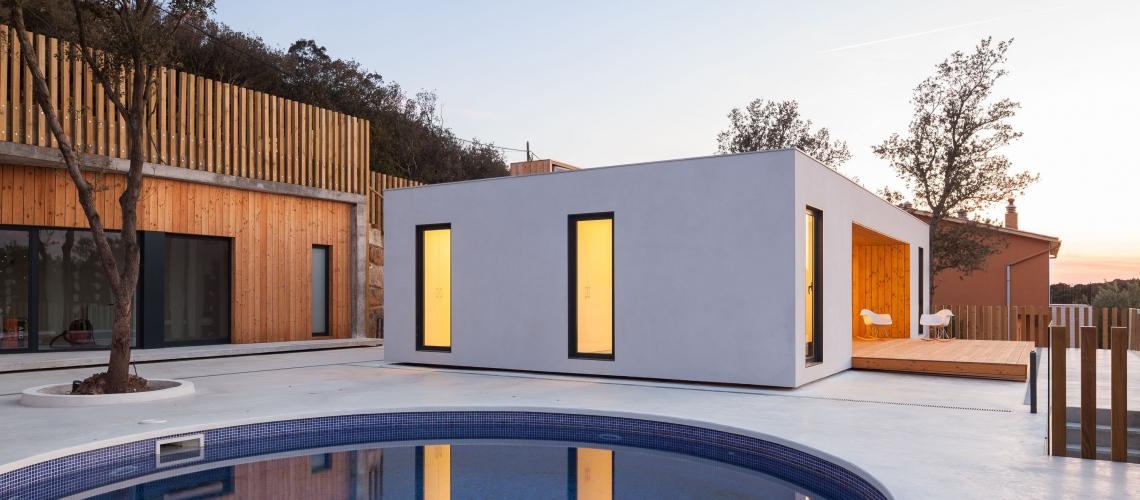 Casa prefabricada Modelo  H