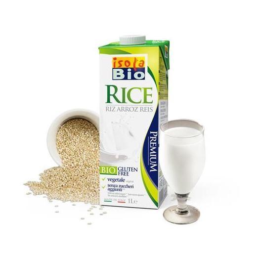 Llet d'arròs bio ISOLA BIO