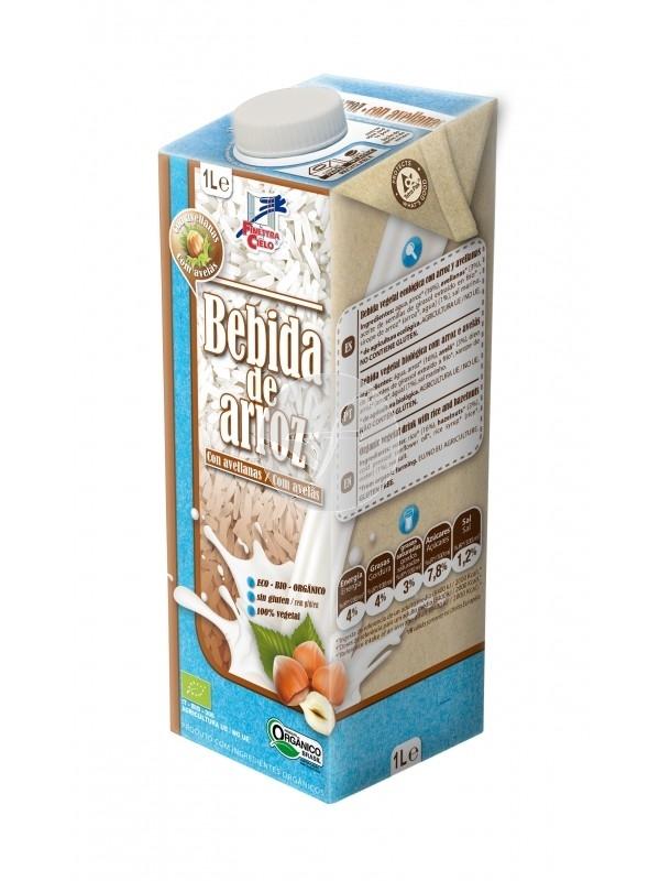 Beguda d'arròs amb avellanes sense gluten LA FINESTRA