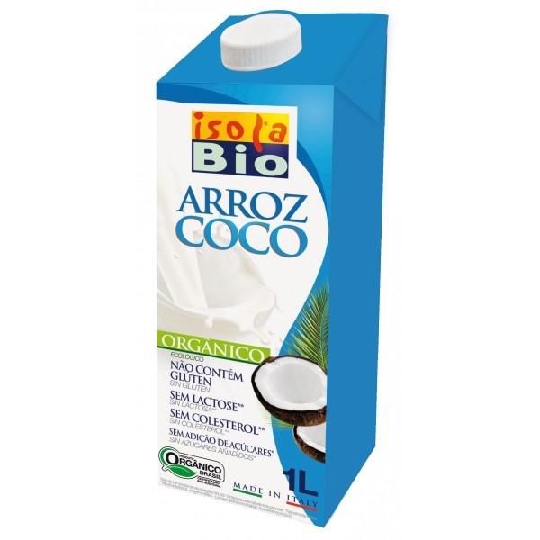 Llet d'arròs coco ISOLA BIO