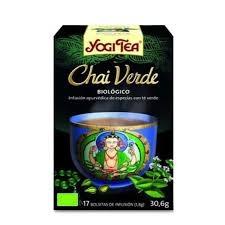 Te verd infusió bio chai YOGI-TEA