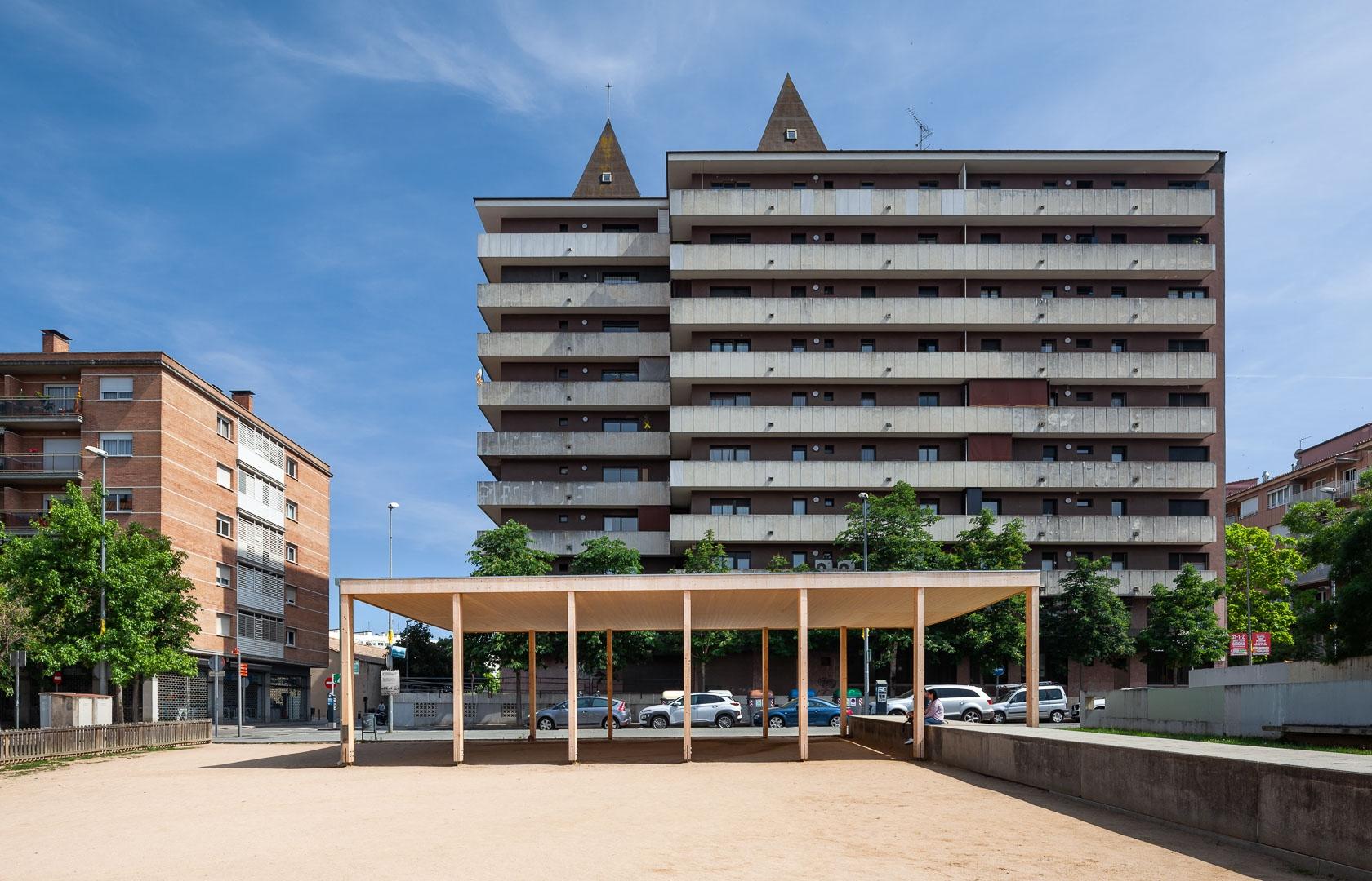 Cobert polivalent  a Girona