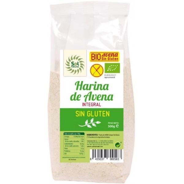Barreja per a pa rústic de civada integral sense gluten SOLNATURAL