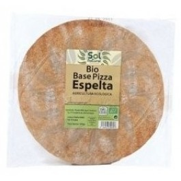 Base pizza d'espelta integral bio SOL