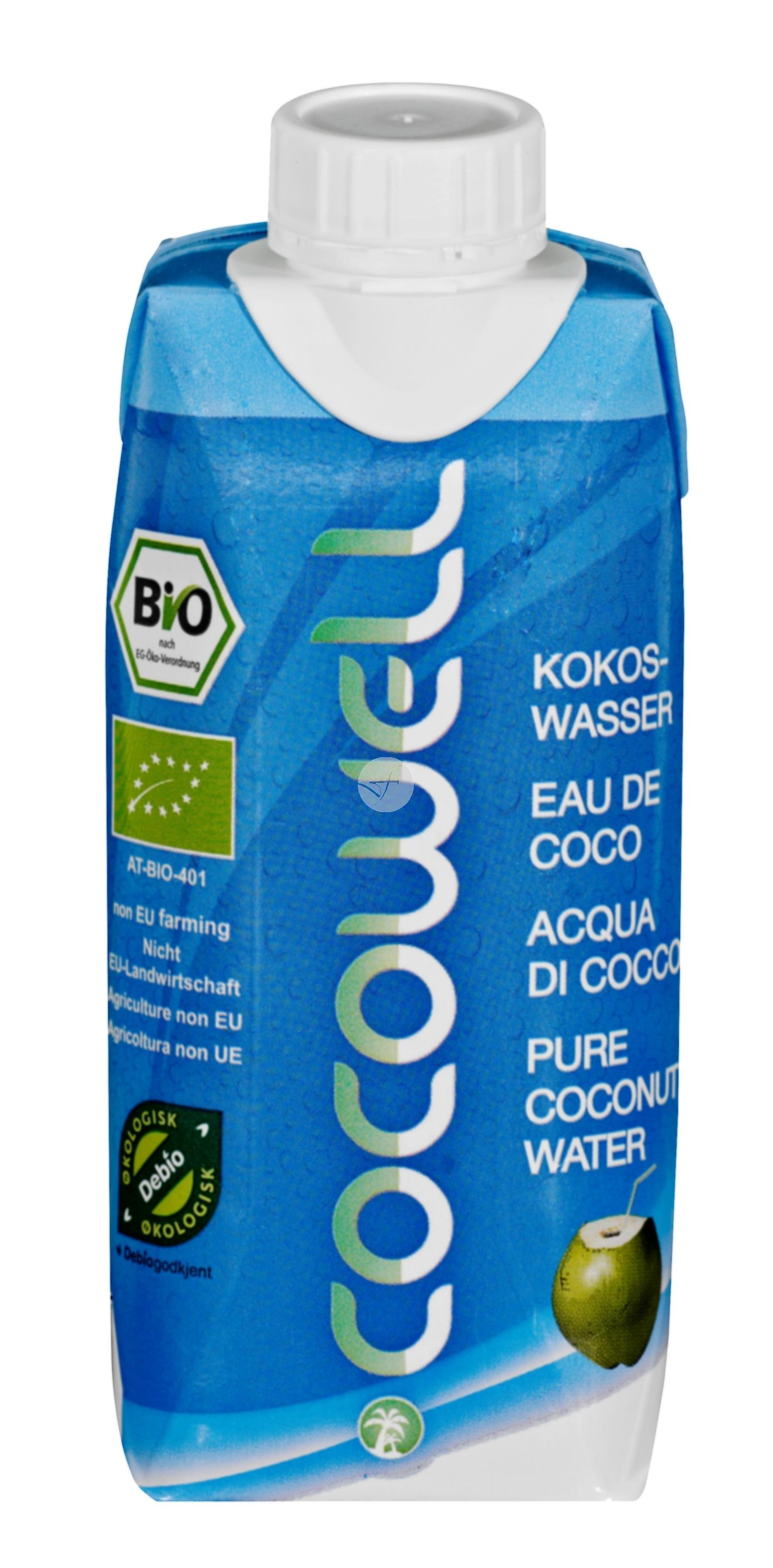 Aigua de coco COCOWELL 100% NATURAL