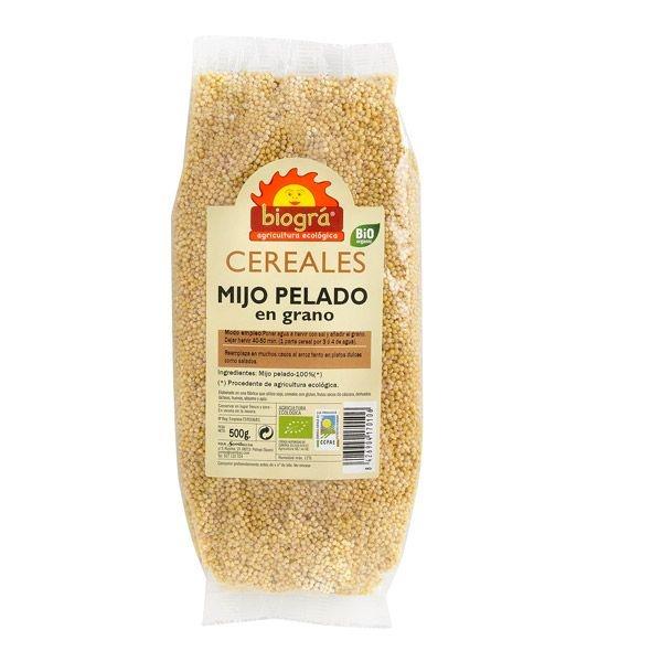 Mijo en grano pelado bio BIOGRA