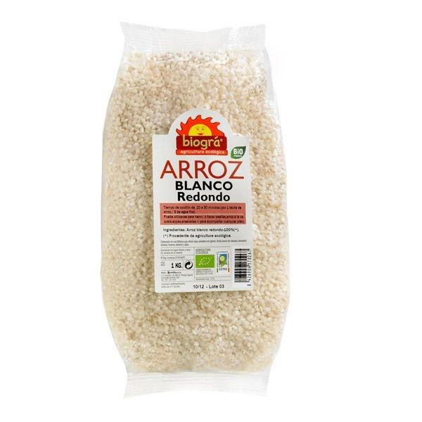 Arròz  integral grano largo bio BIOGRA 1kg