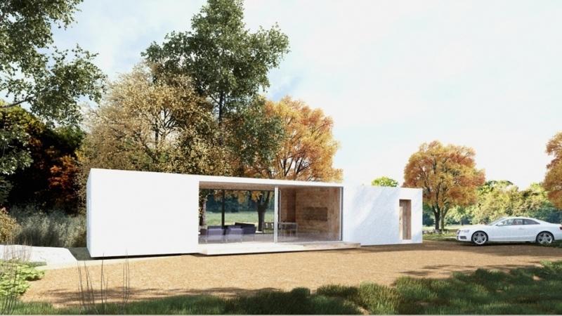 Prefab House Model Slim