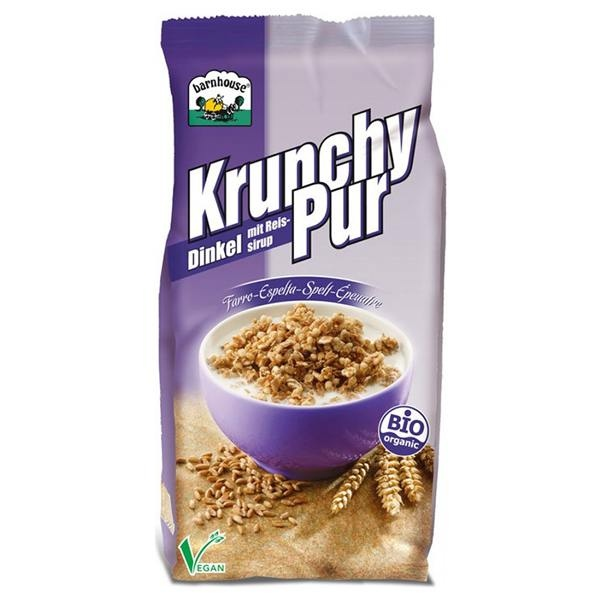 Mueli  d'espelta Krunchy pur sense sucre BARNHOUSE