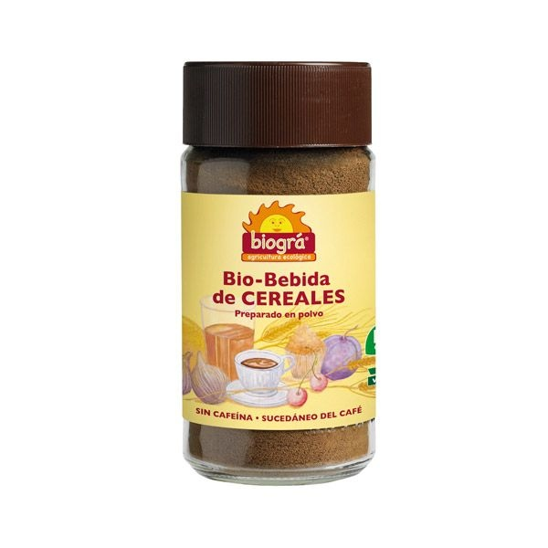 Cafè de cereals soluble bio BIOGRA