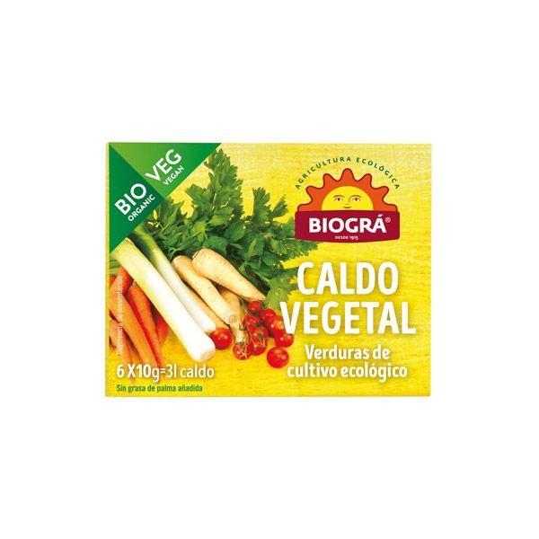 Caldo vegetal bio amb glaçons BIOGRA