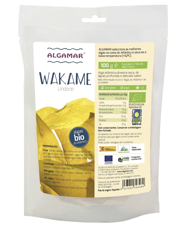 Algas Wakame eco ALGAMAR