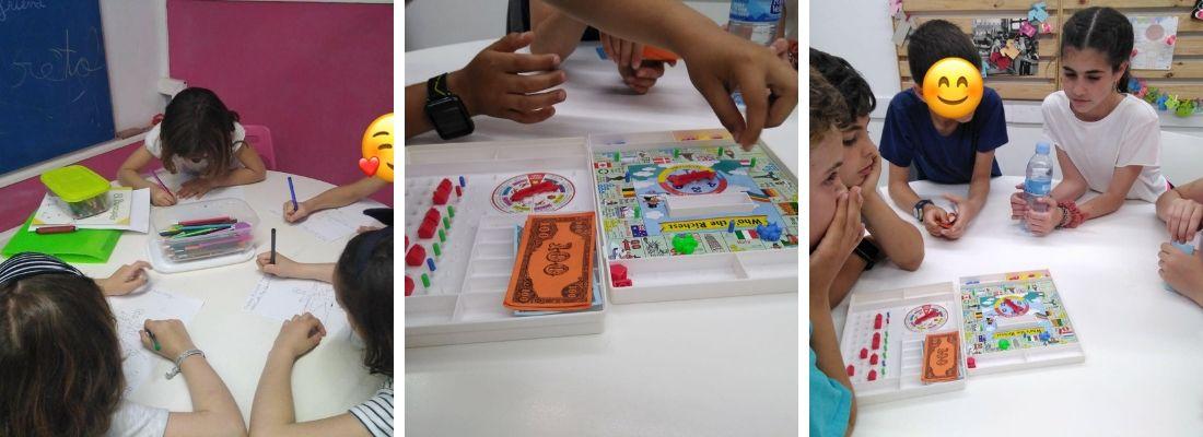 cursos para niños de cinco a once años