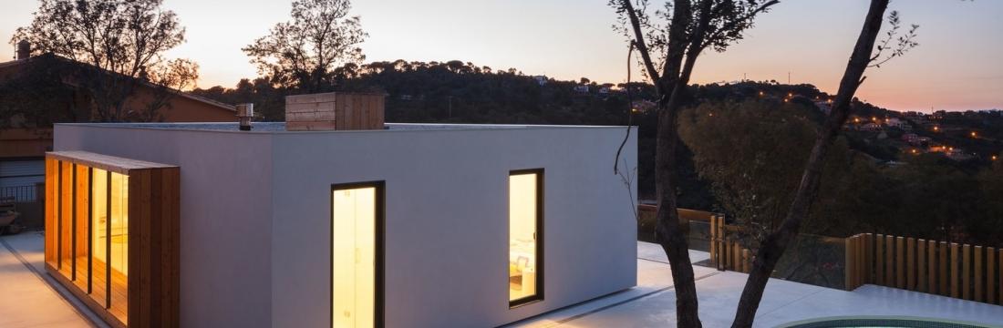 Casa Modelo H en Begur (Gerona)