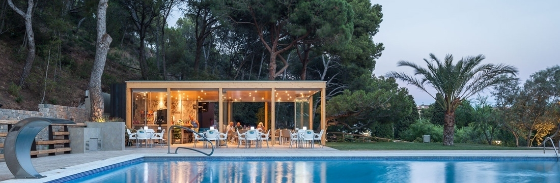 New Restaurant for the Rifort Camping at Estartit (Girona, Catalonia)
