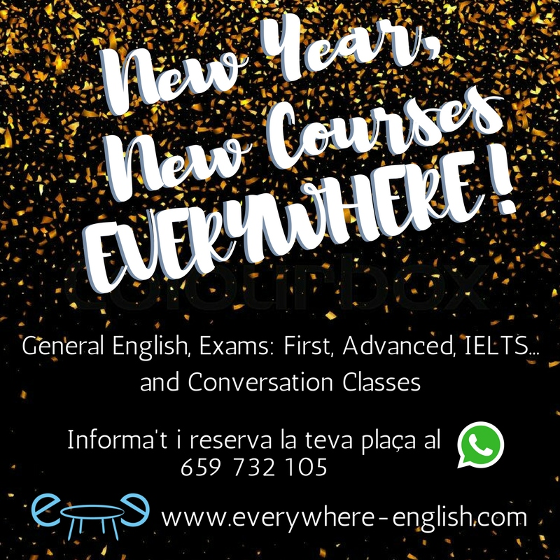 New Year, New Courses EVERYWHERE!
