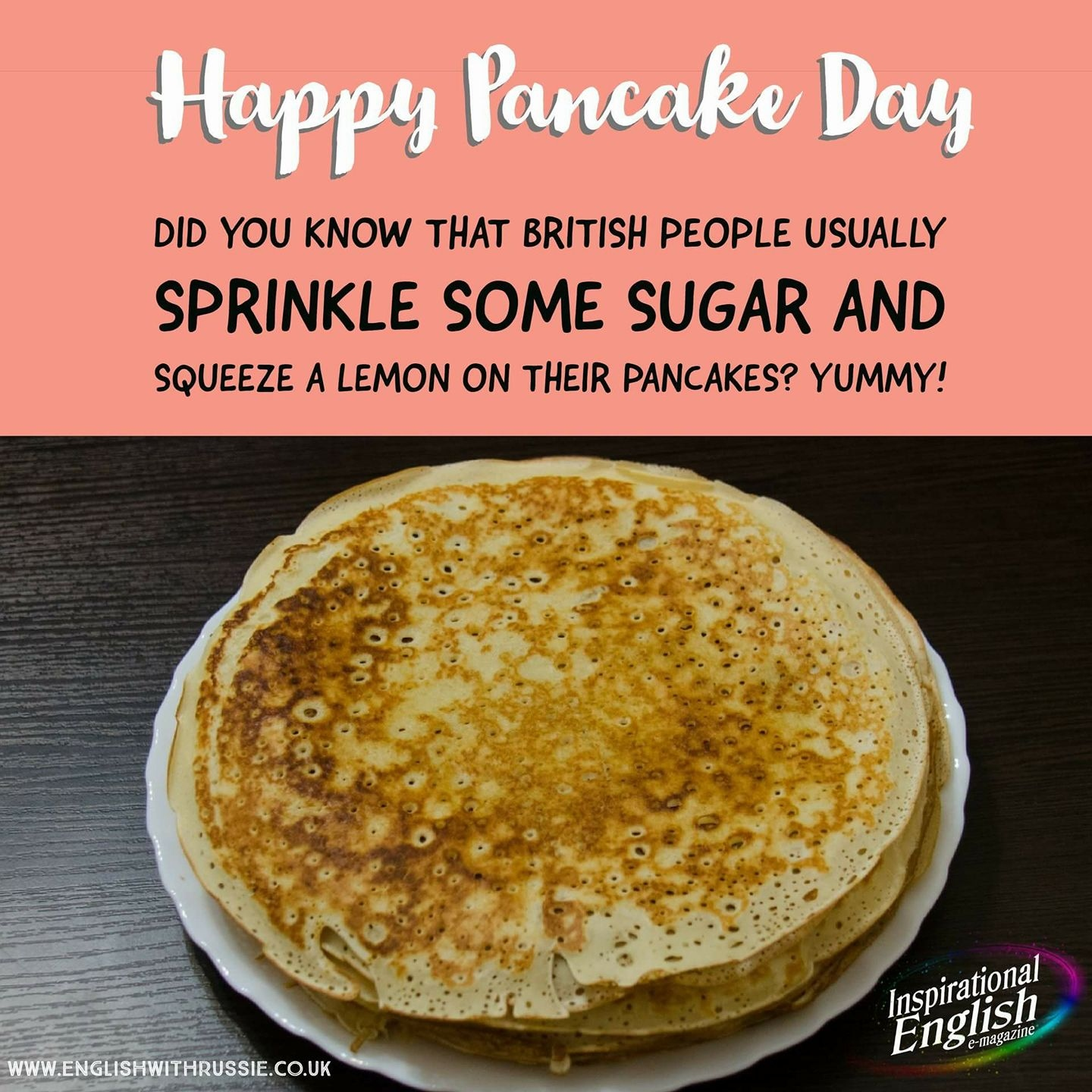 Yummy Pancake Day!