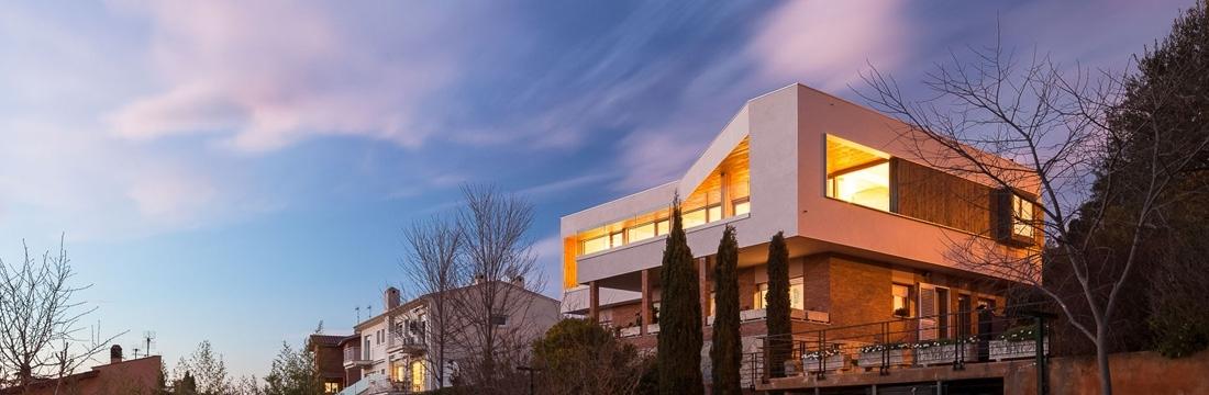 Remonta y ampliación de una casa en Gerona
