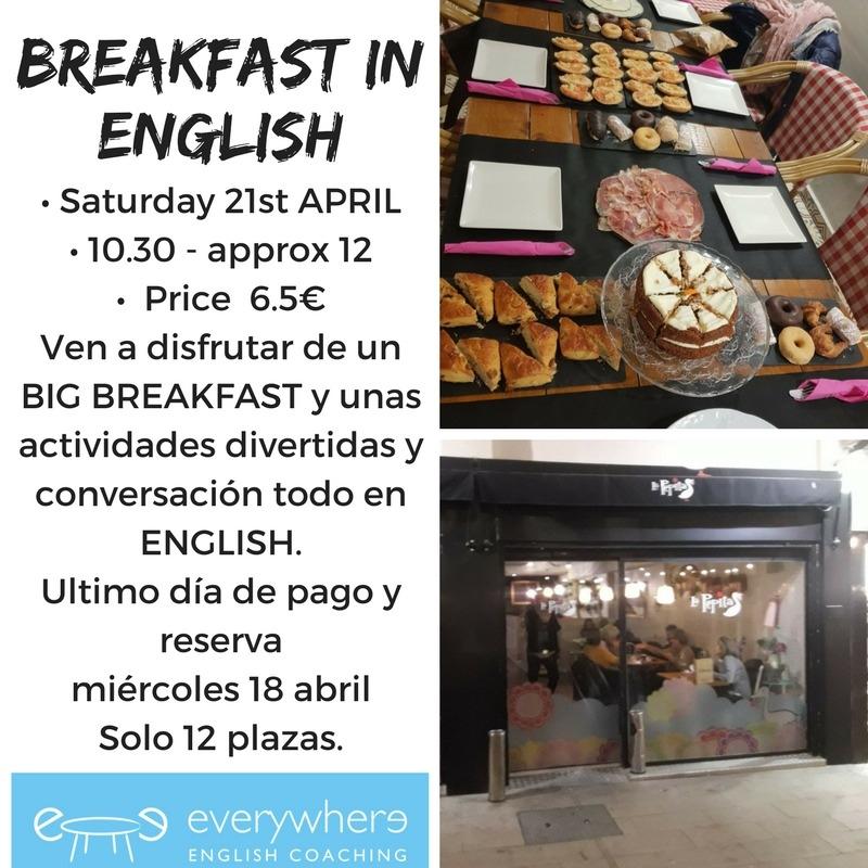 Big Breakfast in English!