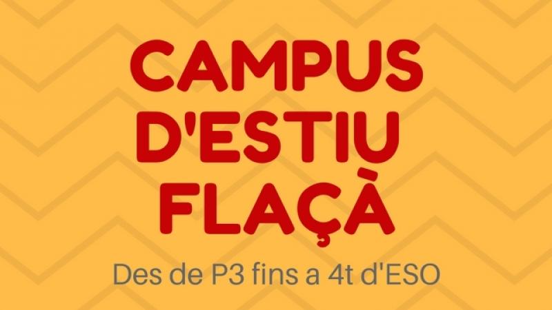 Campus d'estiu a FLAÇÀ