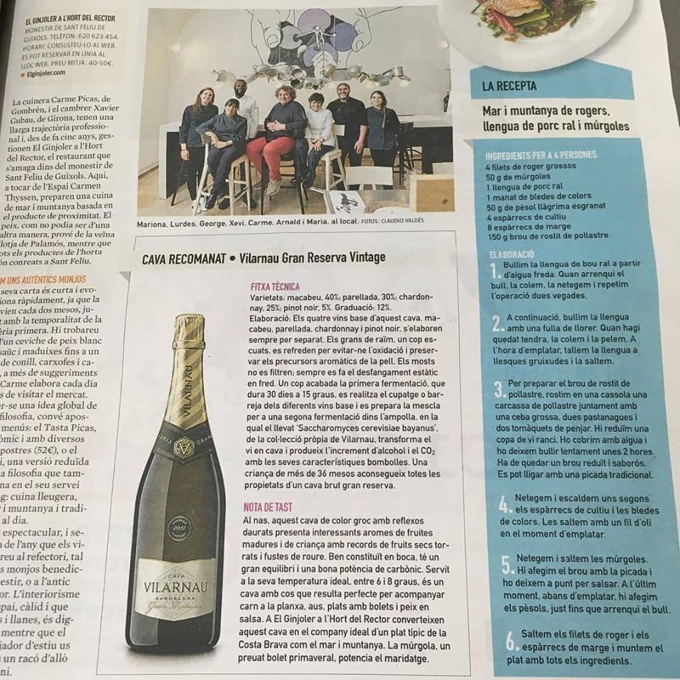 Moltes gràcies pel reportage La Vanguardia. Molt contents!!