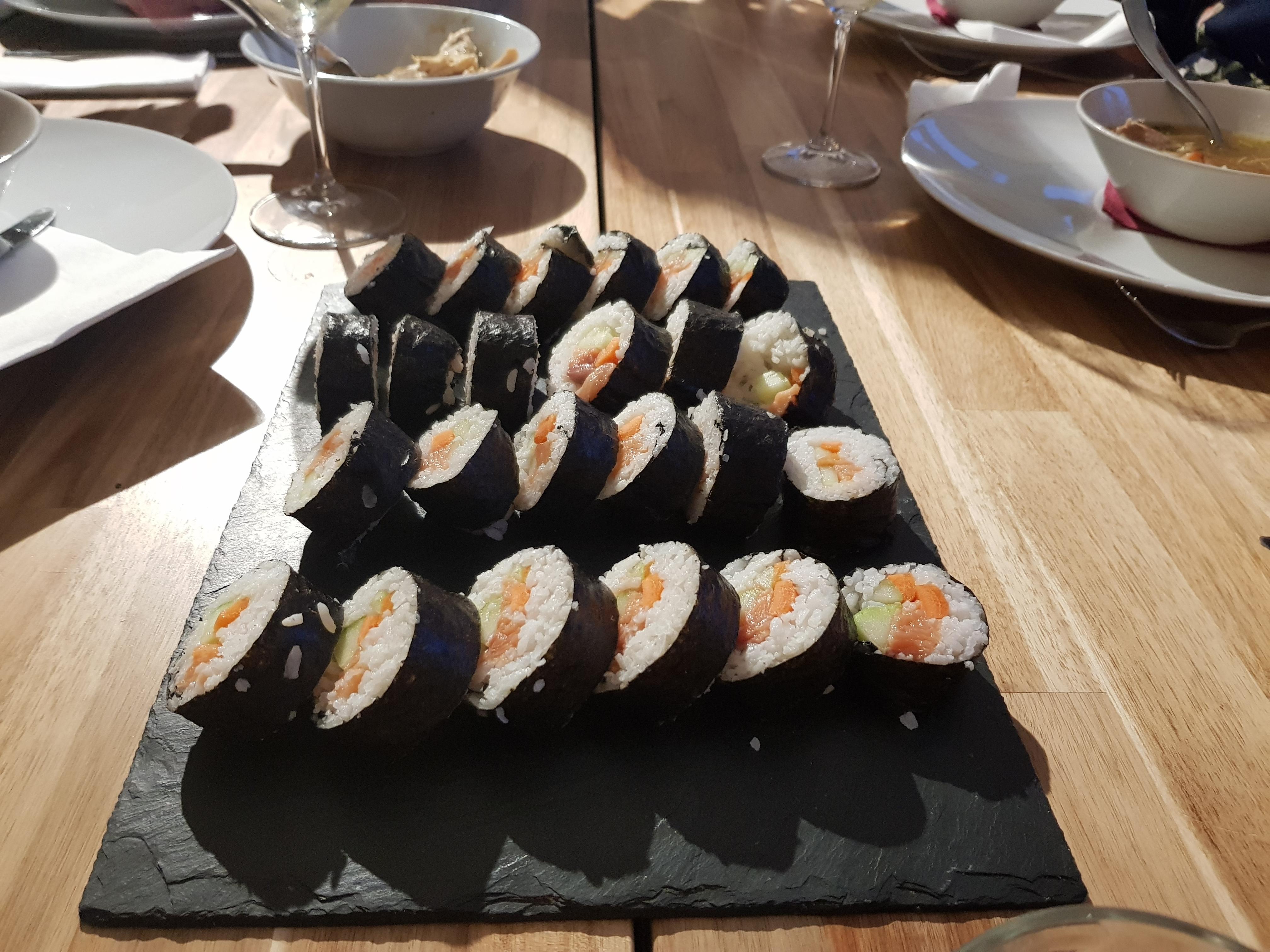 Taller de sushi!!!