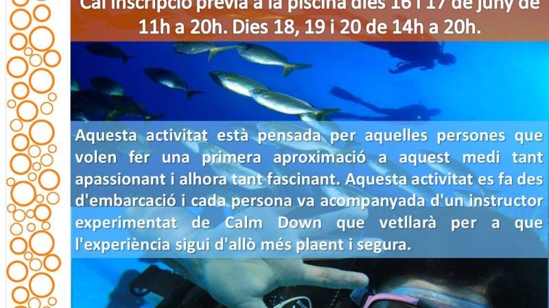 Apunta't al #submarinisme!