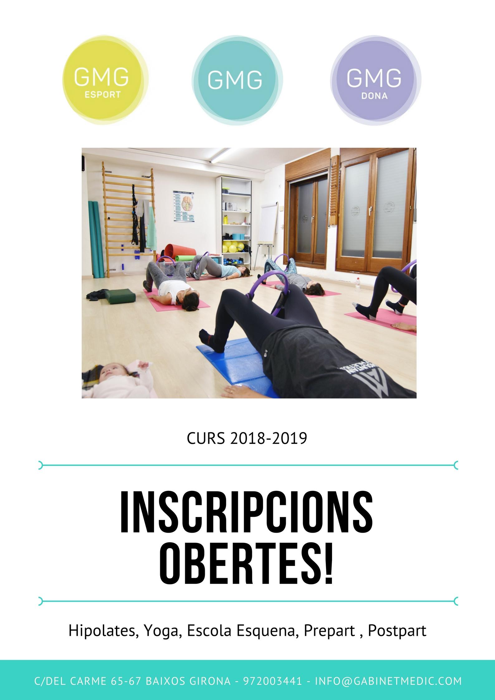 INSCRIPCIONS OBERTES CURS 2018-2019 !!!