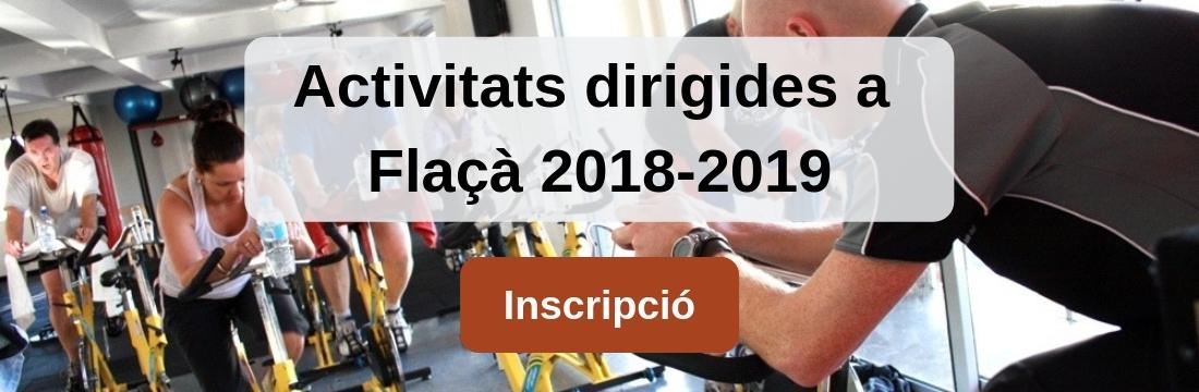Activitats dirigides Flaçà 2018-2019