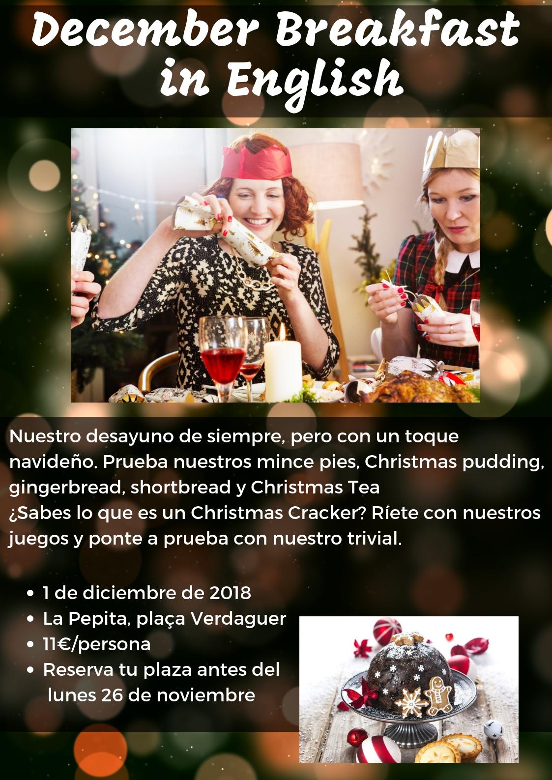Christmas Breakfast in English!