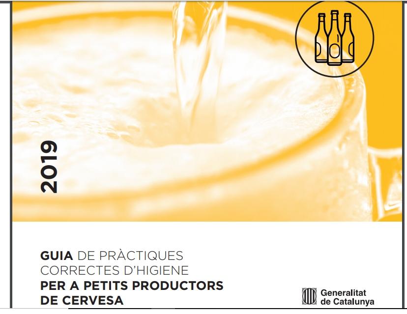 La Guia de Pràctiques Correctes d'Higiene (GPCH) per a petits productors de cervesa