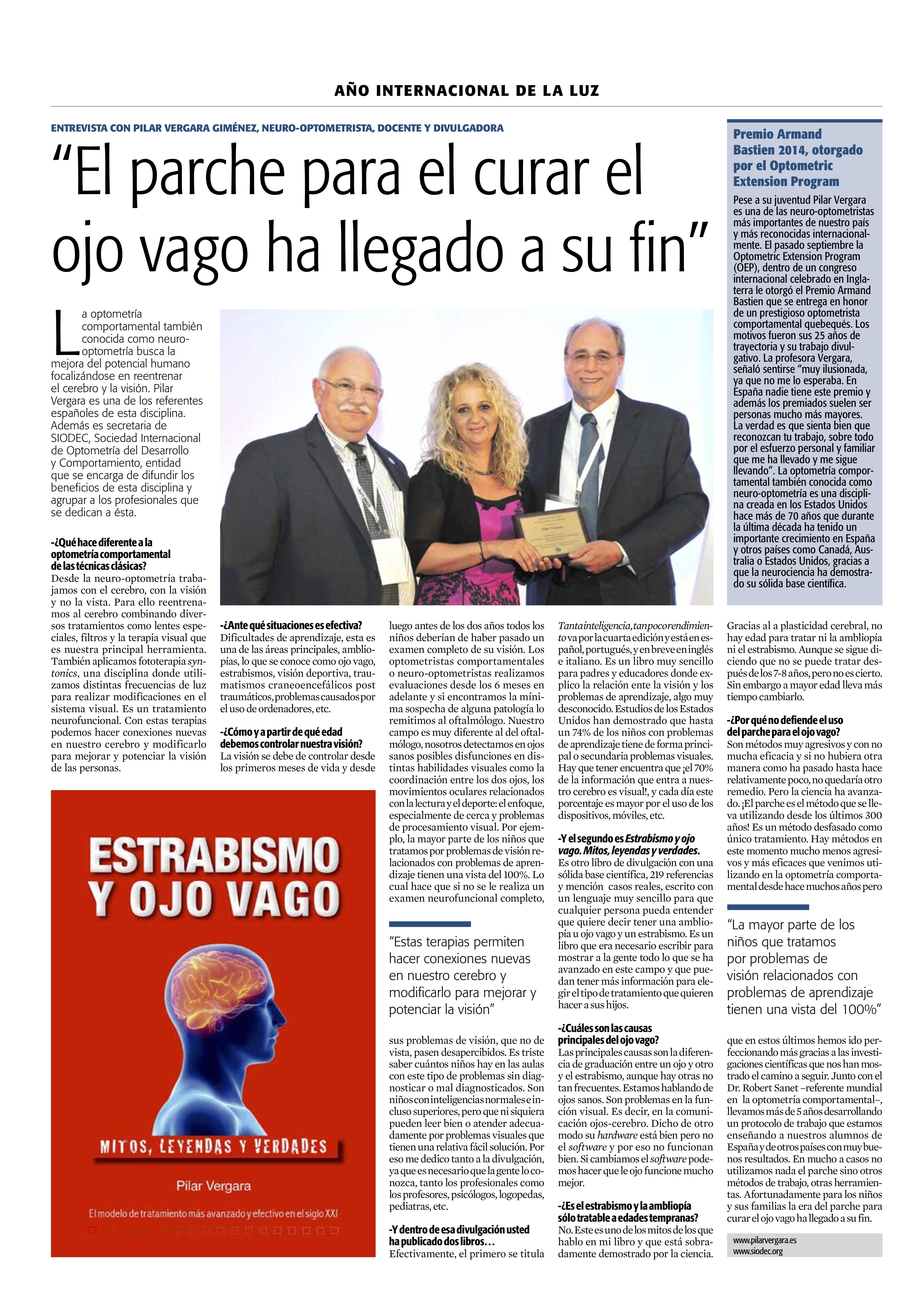 Entrevista a Pilar Vergara
