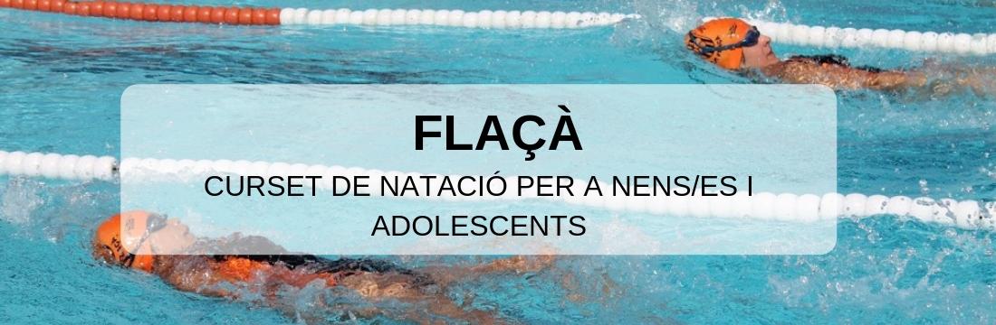 Curset d'Aprenentatge de Natació Flaçà (Agost 2019)