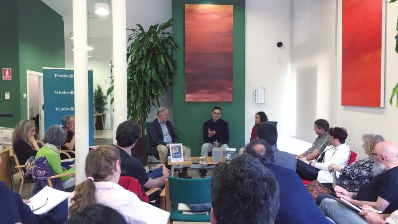 Ricard Turon a la Jornada de Construcció sostenible i consum energètic de Triodos Bank
