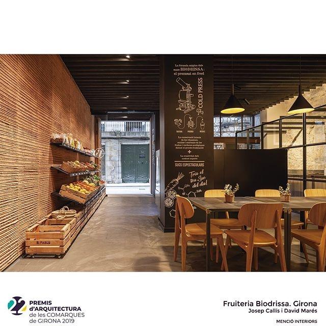 Menció especial d'interiors per la botiga Biodrissa als Premis d'Arquitectura de les comarques gironines de 2019