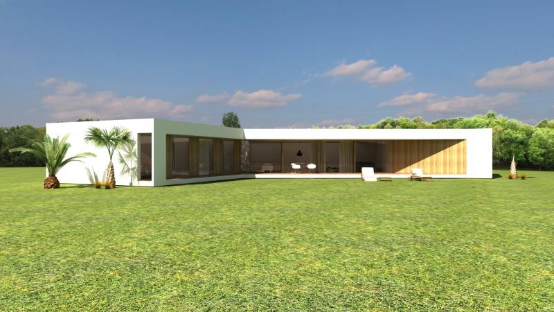 Inici d'una casa dissenyada per Ricard Turon