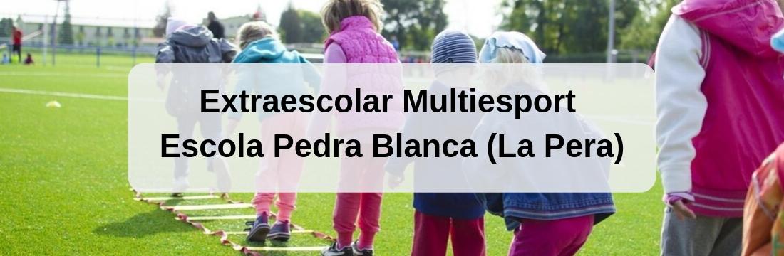 Extraescolar Multiesport Escola Pedra Blanca (La Pera) 2019/2020
