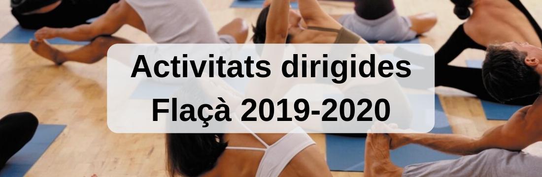 Activitats dirigides Flaçà 2019/2020
