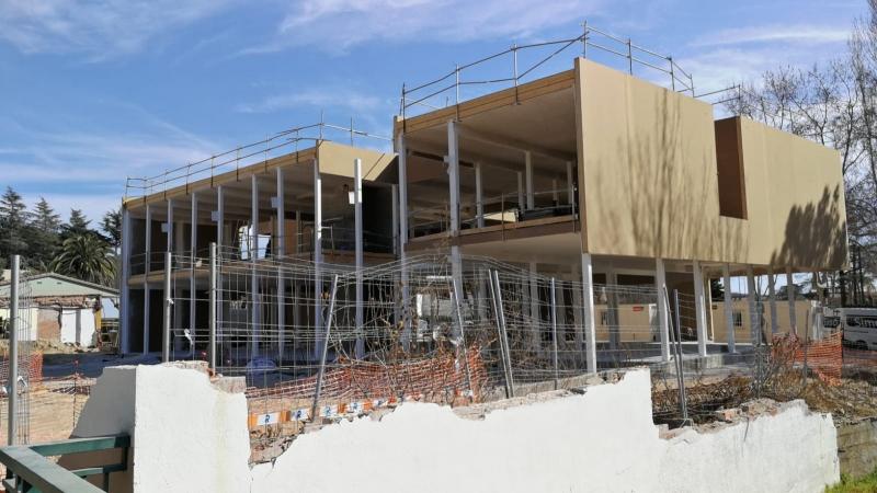 Panells Genial Panel® en el nou Centre Cívic de Castell d'Aro