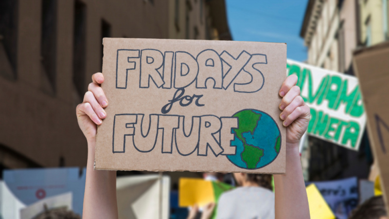 A Genial Panel ens sumem a la manifestació contra el canvi climàtic!