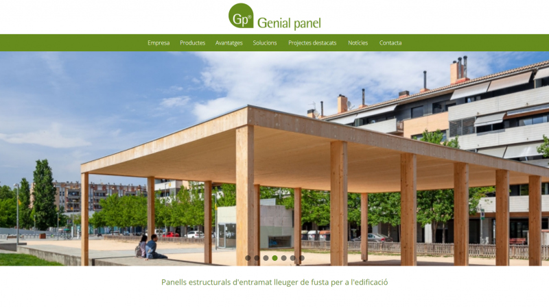 Web renovada de Genial panel®!