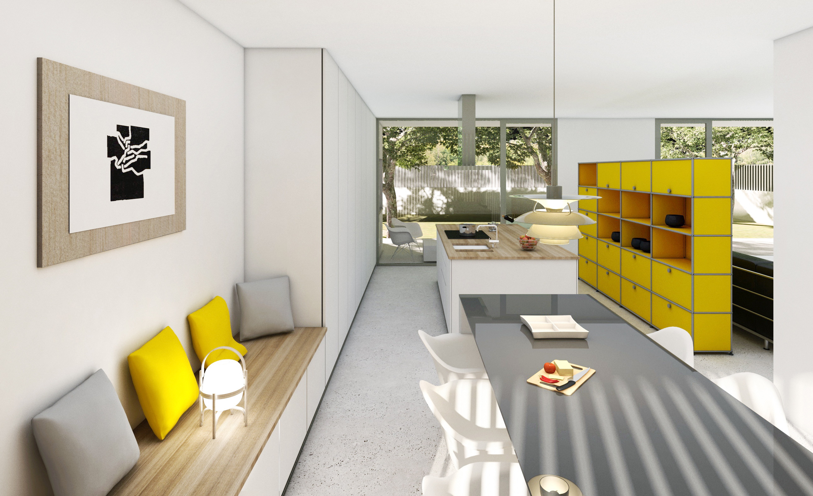 Nou projecte d'un habitatge unifamiliar aïllat