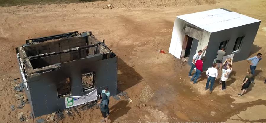Construir amb #fusta és la millor solució davant del foc