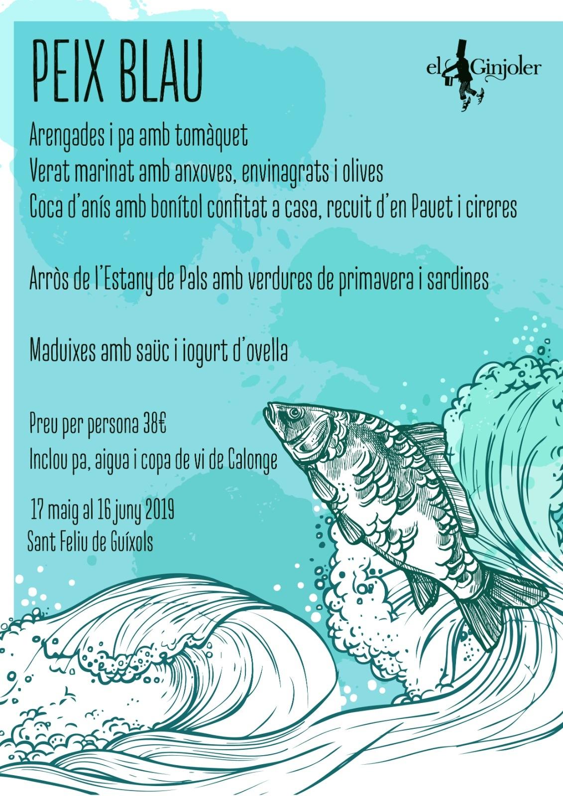 Peix blau a Sant Feliu de Guíxols