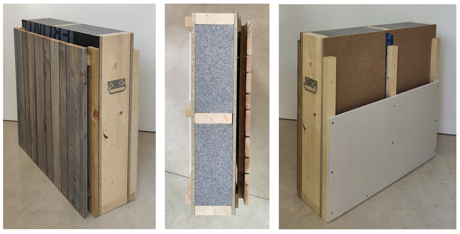 Vols saber el pes i la transmitància tèrmica d'una façanaventilada Genial Panel? / ¿Quieres saber el peso y la transmitancia térmica de una fachadaventilada Genial Panel?