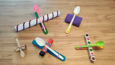 Examples of simple catapults
