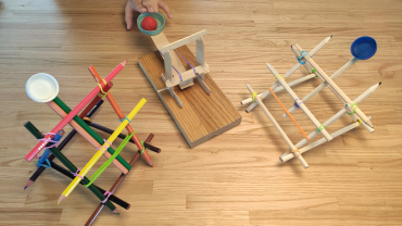 Examples of catapults with some difficulty