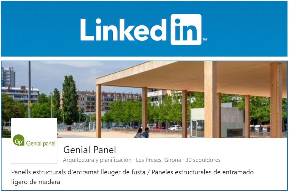 Genial Panel també a LINKEDIN / Genial Panel también en LINKEDIN
