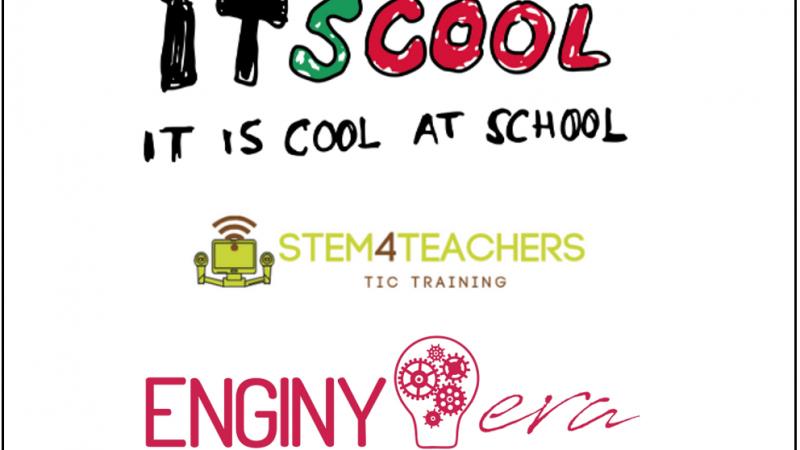ITScool i ENGINY-era firmen un conveni per portar el Projecte Stem4Teachers a Girona