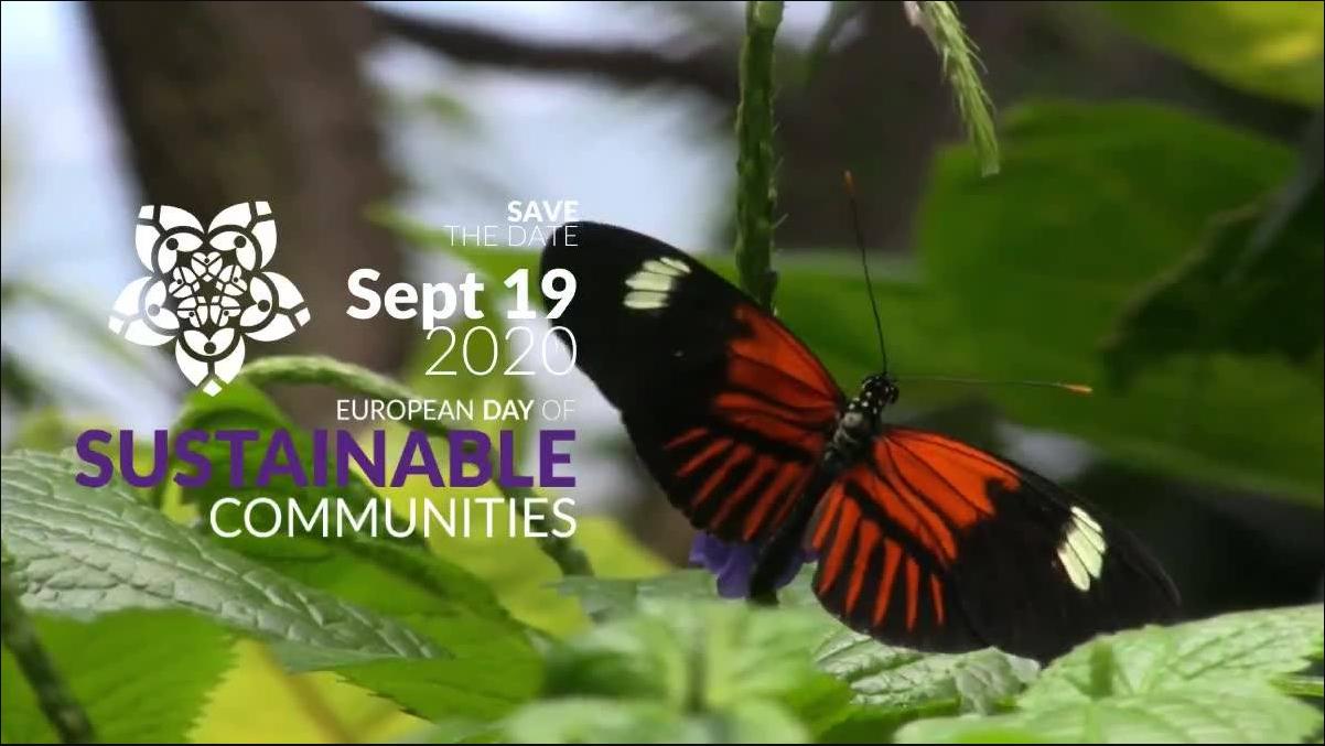 Avui celebrem el Dia Europeu per les Comunitats Sostenibles sostenibilitat / Hoy celebramos el Día Europeo por las Comunidades Sostenibles sostenibilidad